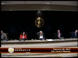 City Council - February 26, 2013