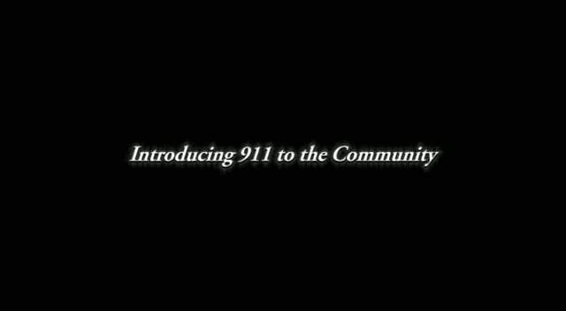 Introducing 9-1-1 to the Community