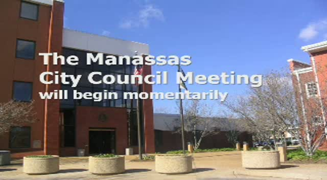 Mar 11 Manassas City Council Meeting