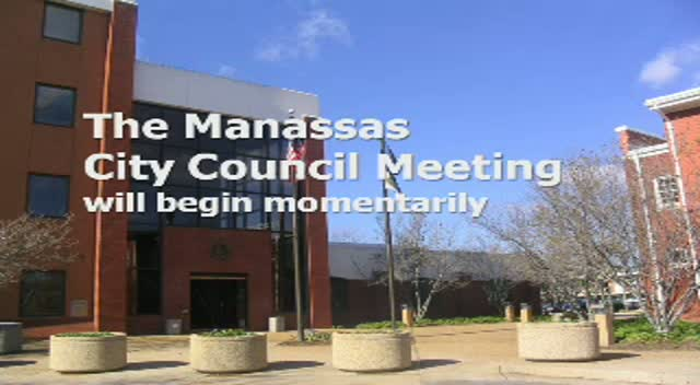 Mar 25 Manassas City Council Meeting