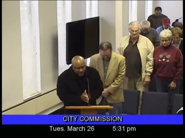 Board of Commissioners Meeting - March 26, 2013