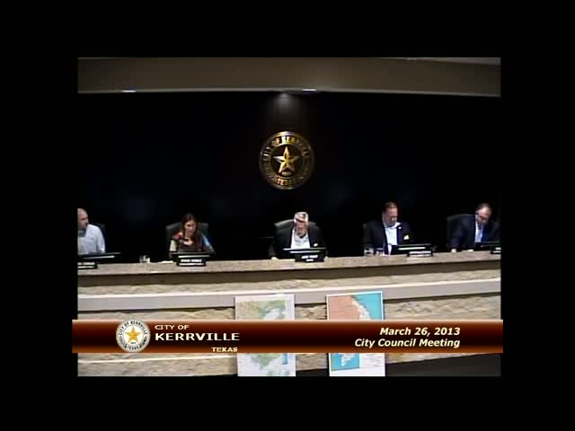 City Council - March 26, 2013