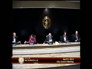 City Council - April 09, 2013