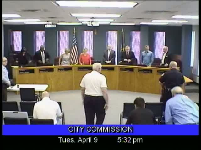 Board of Commissioners Meeting - April 9, 2013