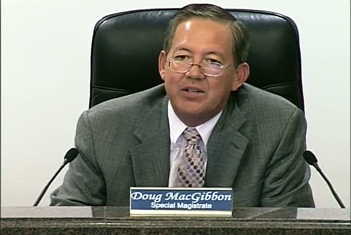 Special Magistrate - December 12, 2012
