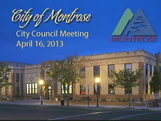 City Council Meeting - April 16