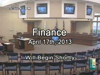Finance April 17th, 2013