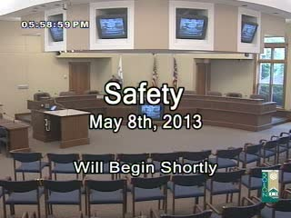 Safety May 8th 2013