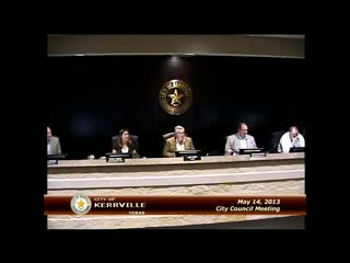 City Council - May 14, 2013