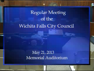 City Council 5-21-2013 Part 1