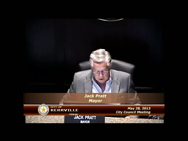 City Council - May 28,2013