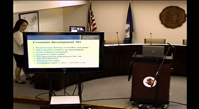 Economic Development Presentation - July 11, 2013