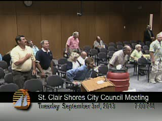 City Council Meeting Sept 3, 2013