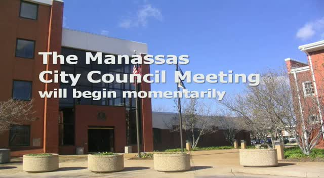 Oct 28 Manassas City Council Meeting