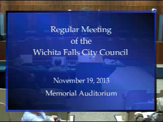 City Council 11-19-2013 Part 1