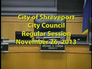 Regular Session 11/26/2013
