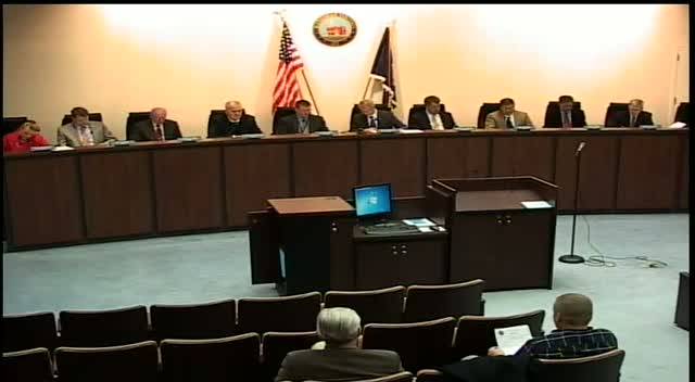Nov 25 Manassas City Council Meeting