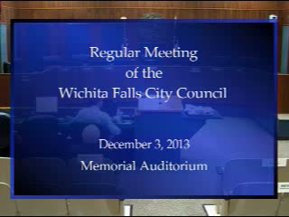 City Council 12-3-2013 Part 1