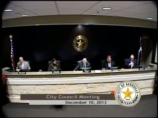 City Council Meeting - December 10, 2013