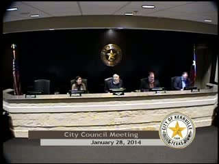 City Council Meeting - January 28, 2014