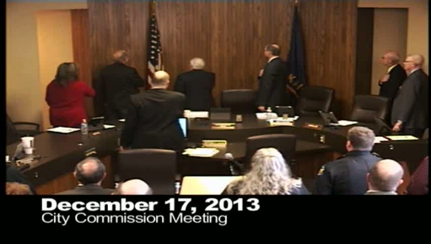 December 17, 2013 City Commission Meeting