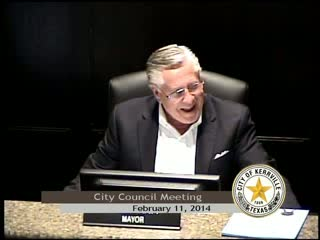 City Council Meeting - February 11, 2014