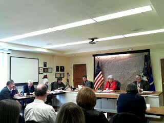 County Commissioner's Meeting 02182014