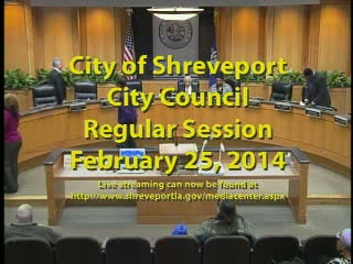 Regular Session 02/25/2014