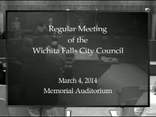 City Council 3-4-2014 Part 1