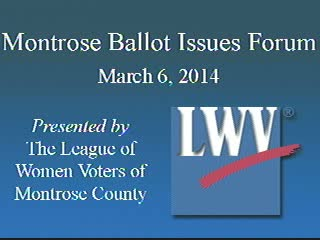 League of Women Voters Forum