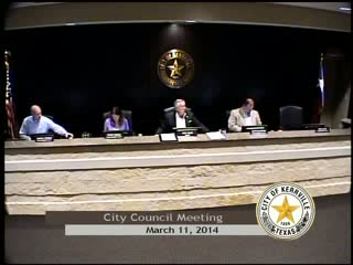 City Council Meeting - March 11, 2014