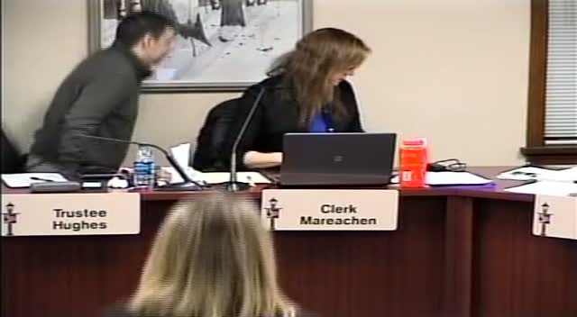 VILLAGE BOARD MEETING VIDEO