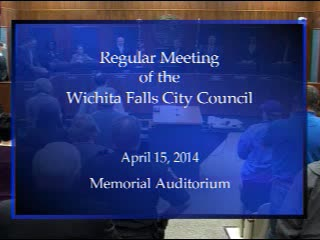 City Council 4-15-2014 Part 1