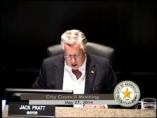 City Council Meeting - May 27, 2014