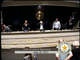 City Council Meeting - June 10, 2014