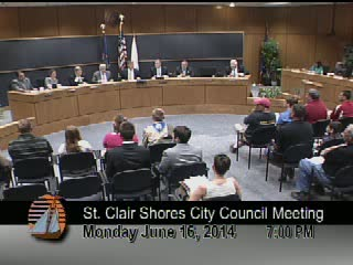 Council Meeting June 16, 2014