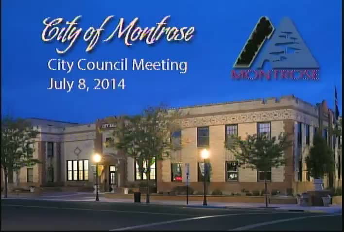 Special City Council Meeting July 8