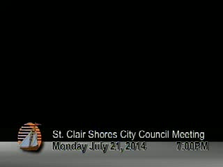 Council Meeting July 21, 2014 Part 1