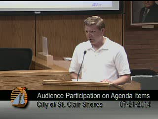 Council Meeting July 21, 2014 Part 2