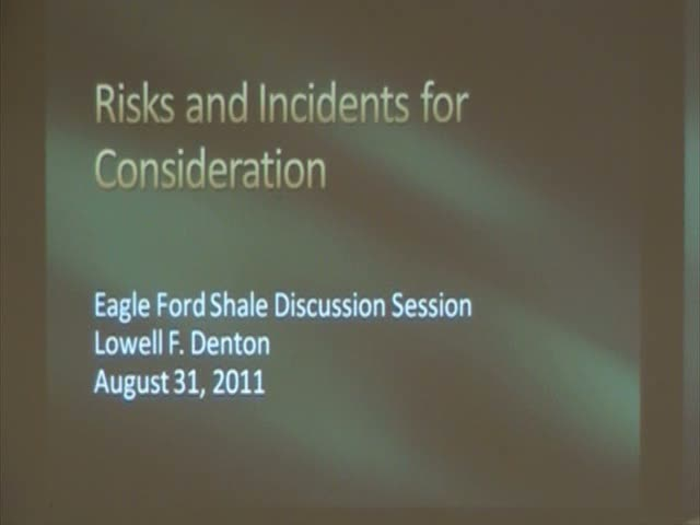 &quot;Risks and Incidents for Consideration&quot;