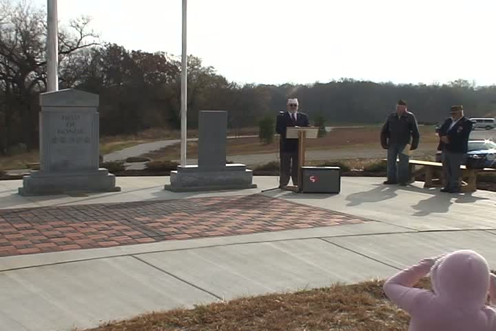 Lansing Veterans Memorial Dedication