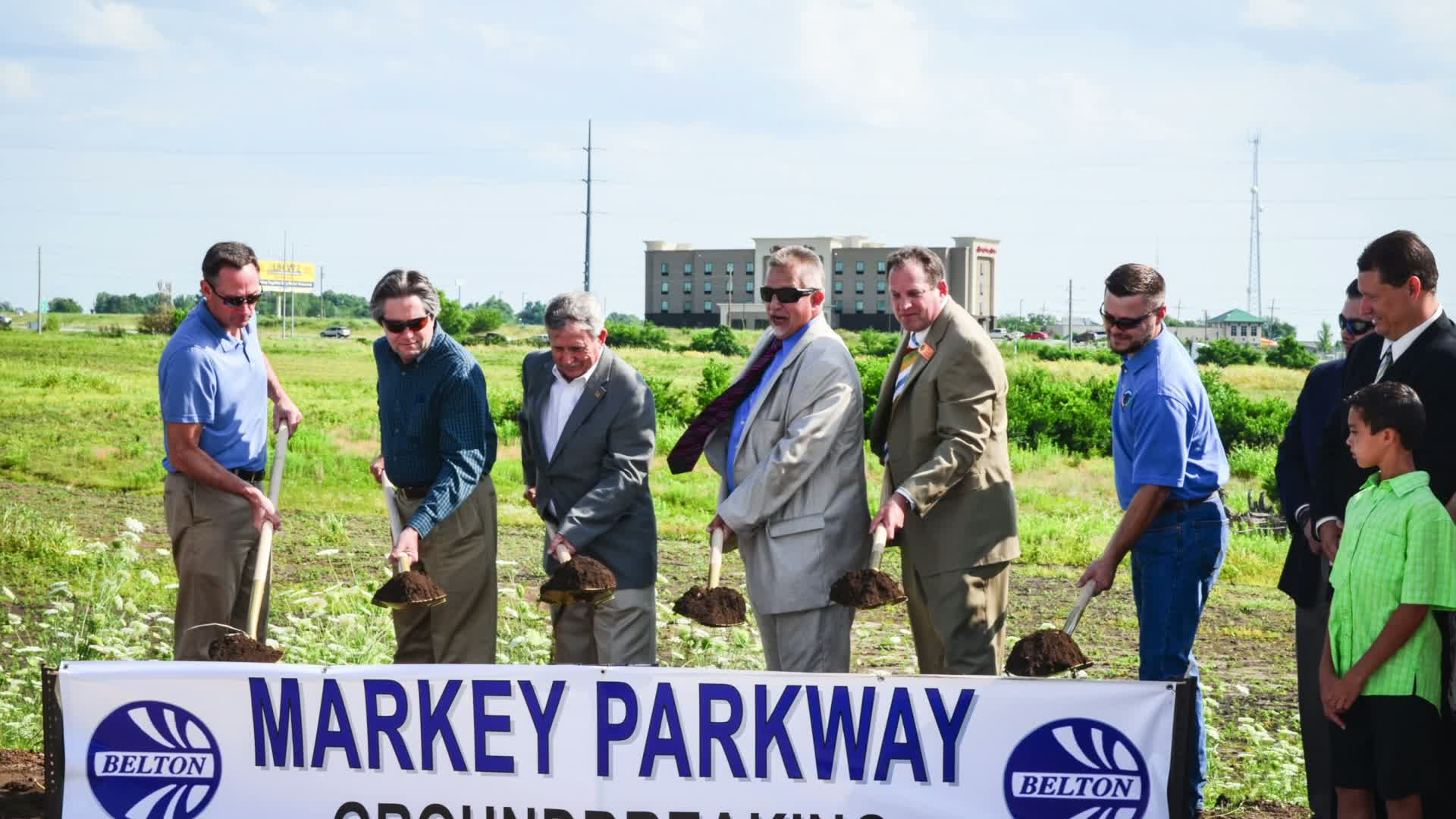 Markey Parkway Groundbreaking Ceremony