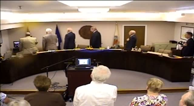 Board of Supervisors Meeting - July 22, 2014