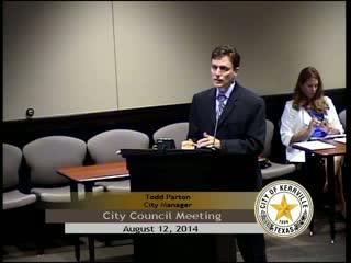 City Council - August 12, 2014