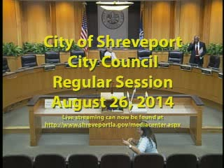 08-26-14 City Council Meeting
