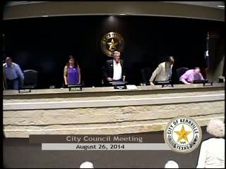 City Council - August 26, 2014