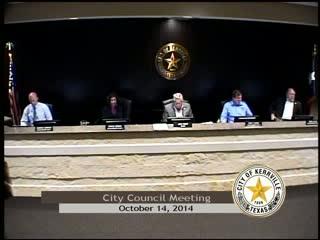 City Council - October 14, 2014