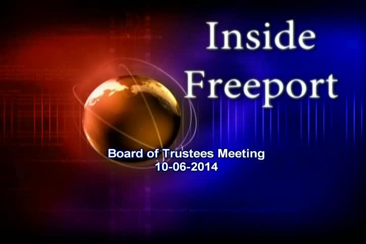 Board of Trustees Meeting 10-06-2014
