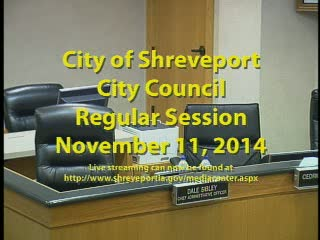 11/11/2014 Regular Session of City Council
