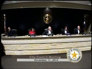 City Council - November 11, 2014